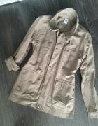 Creane Nowa wojskowa kurtka khaki super