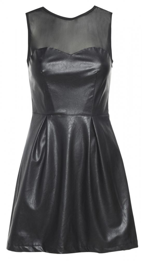 Sukienka rozkloszowana skórzana AX Paris 38 40...