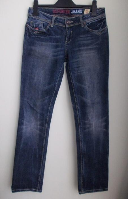 Spodnie jeans denim przecierane REPORTER 38 40...