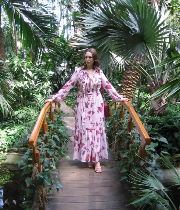 Blogerek Cyganeria w tropikalnym ogrodzie