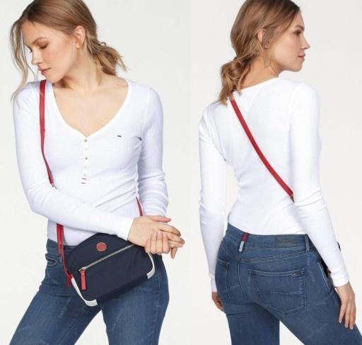 Ubrania Tommy Hilfiger biała bluzka S XS