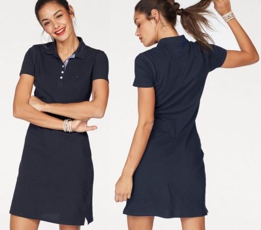 Ubrania Tommy Jeans sukienka polo XS S