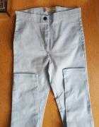 Nowe spodnie jeansy skinny jasno niebieskie blue...
