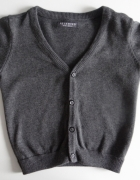 Szary sweterek na guziki Reserved rozmir 86