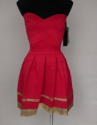 ea6613383950 Czerwona sukienka xs s m w Suknie i sukienki - Szafa.pl