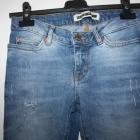 jeans Noisy May 34 36 dziury niski stan skinny fit