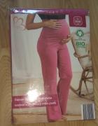 Nowe różowe ciążowe spodnie dresowe L 44 46
