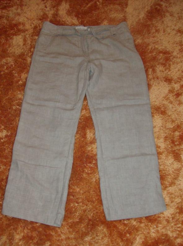 Spodnie Spodnie damskie 100 procent len GEORGE 44