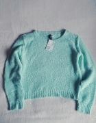 Nowy miętowy sweter h&m...