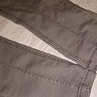 Siwe spodnie jeansy S M