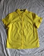 Żółta koszula Mohito z krótkim rękawem roz 36