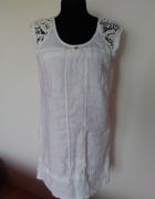 Nowa włoska lniana sukienka rozmiar 36...