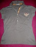 Tshirt polówka szara M