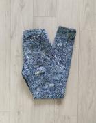Spodnie jeansy H&M wzory S