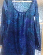 Sukienka tunika welur amisu 38 40