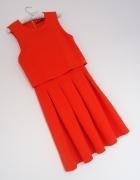 sukienka z pudełkową górą Mohito 36 38