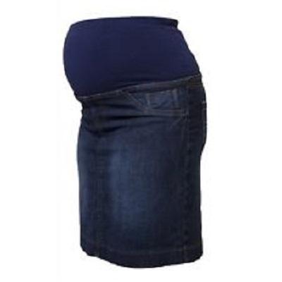 Spódnice Spodnica jeansowa ciazowa 48 spodniczka