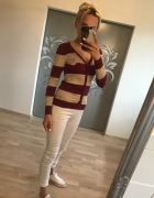 Sweterek w paski Croop