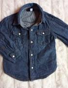 Koszula jeansowa 92 2 lata stan idealny