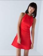 Nowa czerwona sukienka Bershka S
