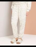 Oysho piżama ciepła z misiem nowe owl sowa 34 XS