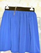 spódniczki z zameczkiem na gumce chabrowa MEGA