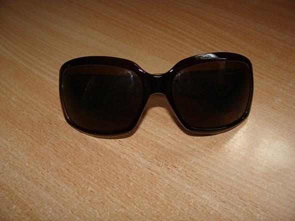 Tani okulary przeciwsloneczne czarne brazowe Viper