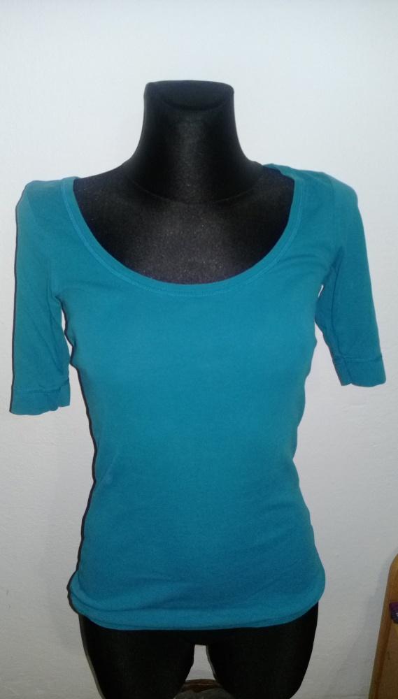 bawełniana bluzka Dorothy Perkins zielona 36...