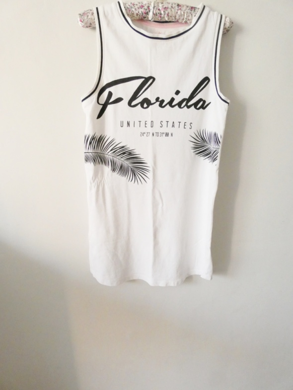 Biała sukienka florida