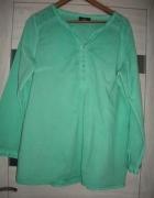 Bluzka w turkusowo miętowym kolorze