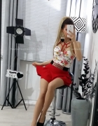 śliczna modna i sexowna spódniczka mini sukienka NataNella