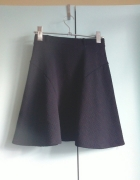 Czarna pikowana spódnica atmo xs s