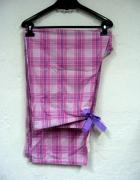 Spodnie bawełniane w kratę do spania długie Bhs nowe 48 20