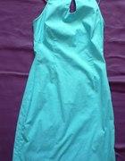 niebieska sukienka na lato 34 36 XS S