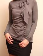 szara elegancka bluzka mohito XS kokarda