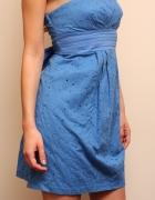 niebieska sukienka Orsay na lato