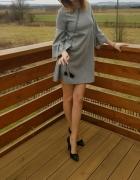 Sukienka w kratę Nowa