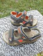 Skórzane Sandały 27 khaki VIETINO 17 cm wkładka