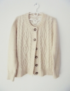 sweterek rozpinany L