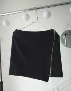 Spódnica granatowa kopertowa elegancka H&M z ozdobym zamkiem 32...