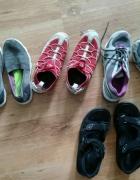 Znoszone buty sportowe fetysz