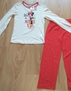Piżama z długim rękawem nowa Myszka Minni 134 Disn