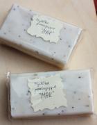 Naturalne makowe mydełko cięte EKO