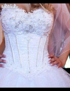 Suknia ślubna w stylu princess r38 40