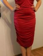 Czerwona sylwestrowa sukienka Victoria Secret Moda Internationa...
