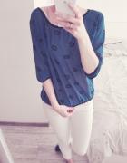 Koszulowa bluzka mgiełka S a la Mohito