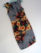 sukienka floral kwiaty