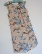 sukienka pudrowa mgiełka Atmosphere floral 36