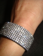 bransoletka z kryształkami Swarowskiego