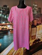 new look inspire sukienka kokardki wyszczuplająca 48